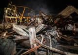 """""""불기둥이…"""" 은평 모델하우스 화재, 2km 떨어진 북한산 태웠나"""