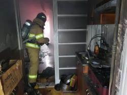 빌라 화재 목격 여고생, 기지 발휘해 50대 생명 구했다
