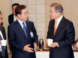 박원순 시장이 문재인 대통령 아세안 3국 순방을 보고 한 말은 …
