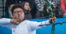 남자 양궁 에이스 김우진, 국가대표 선발전 선두 질주