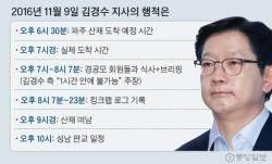 """김경수 측 알리바이 반격…""""8시7분은 킹크랩 볼 수 없는 시간"""""""