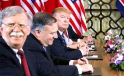 """""""트럼프, 대북외교 성공하려면 볼턴 해고해야"""""""