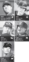 <!HS>류현진<!HE>·강정호 '맑음'…추신수·오승환 '흐림'
