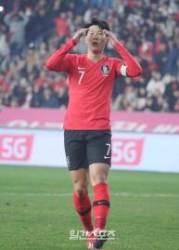 [한국-볼리비아]'손톱'도 실패…벤투호에서 '0골' 손흥민, 8G 침묵