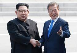 """홍준표 """"北연락사무소 철수, 그럼에도 짝사랑하는 文정권 측은"""""""