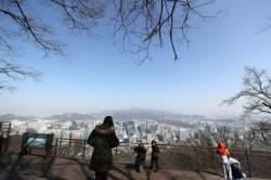 휴일 아침, 전국 영하권 '꽃샘추위'…미세먼지 '보통' 수준