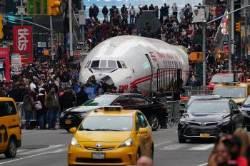 [서소문사진관]뉴욕 한복판에 비행기 불시착? 알고보니 호텔 칵테일바