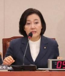 """박영선 """"최저임금은 지자체별 결정이 좋다는 게 개인 의견"""""""