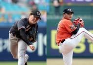 '외인 확인' 한용덕 감독, 국내 선발 3명 당분간 믿고 간다