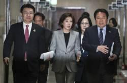 """[밀착마크]나경원 """"文 '김정은 대변인' 발언, 국민이 하고픈 말"""""""