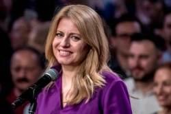 부패에 질렸다···슬로바키아 정치경험 전무 여성 대통령 탄생