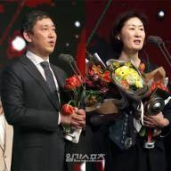 """'감독상' 최태웅-박미희 감독 """"선수단 고마워"""""""