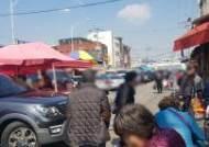 [현장 취재] '노인사고 1위' 청량리청과시장, 인도 막혀 차도 보행 아찔