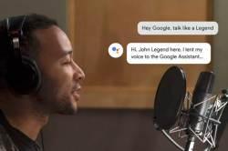 '존 레전드 외 5명' 구글 음성인식 비서, 유명 연예인 목소리로 서비스