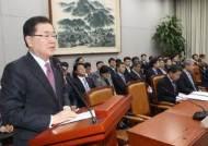 """정의용 실장 """"대북 특사 파견 검토중"""""""