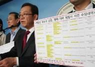 """한국당 """"박영선 남편, 사건 수임 의혹""""…현대차 """"과다계산 오해"""""""