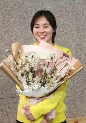 돌아온 미소 천사 김아랑, 쇼트트랙 대표 선발전 종합 1위