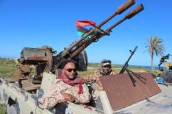 '아랍의 봄' 8년 리비아 내전으로 30여명 사망…미군 서둘러 떠나