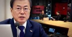"""文대통령, KBS 질타에…한국당 """"오래간만에 정확한 지적"""""""
