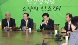 """<!HS>평화당<!HE> """"교섭단체 논의 사실상 끝나""""…찬성파 """"박지원이 당 흔들어"""""""