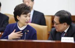 """장관 낙마 불똥 튄 김현미·유영민?···""""속 부글부글할 것"""""""
