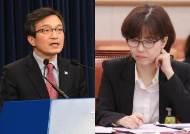 """홍준표 """"김의겸은 아내, 이미선은 남편 탓···좌파 뻔뻔하다"""""""