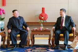"<!HS>시진핑<!HE>, 北 김정은 위원장에 ""열렬히 축하"" 축전"