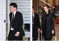 """조양호 회장 국내로 운구 … 조원태 """"마음 무거워"""""""
