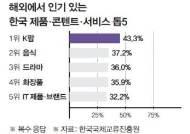 [인포그래픽] 해외에서 인기인 한국 제품·콘텐트·서비스 톱5