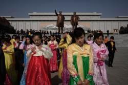 [서소문사진관] 북한 최대 명절 '태양절' 맞아, 열병식은 안 할듯