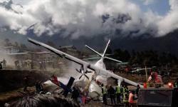 [서소문사진관] 세계에서 제일 위험한 공항, 루클라에서 비행기 충돌