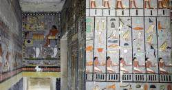 이집트서 4000여년 전 고대 무덤 발굴…내부 모습은