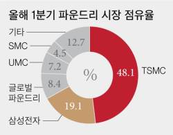 '초격차' 삼성, 머리카락 1만분의 5 굵기 나노공정 첫 개발