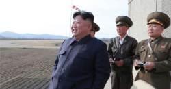 """김정은 """"정말 대단"""" 극찬 신형무기, 다목적 정밀유도 미사일?"""
