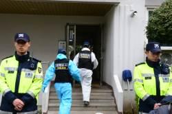 [진주 묻지마 살인] 11세 여아 사망, 흉기막던 엄마도 찔려···가족 4명 사상