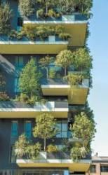 [봄과 함께] 건물 외벽에 '바이오필릭' 디자인 적용한 수직 정원 도시에 생명력 불어넣는 '사람 중심'의 집을 짓는다