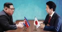 """아베, 김정은에 또 러브콜, """"외교청서에서 '대북 압력'표현 삭제"""""""