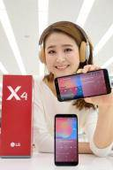LG전자, 29만원대 실속형 스마트폰 'LG X4' 출시