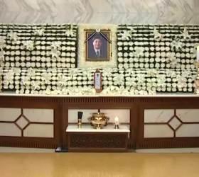 [영상]<!HS>김대중<!HE> 대통령 장남 김홍일 전 의원 빈소 조문객 줄이어