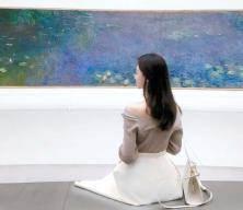 [라이프 트렌드] '인생사진' 어디서 찍니? 미술관 그림 앞서 찰칵!