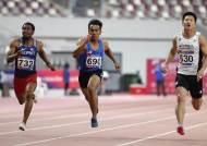 이등병 김국영, 아시아선수권 남자 100m 준결승 진출