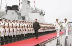 [사진] 시진핑, 한·일·러 불러 '강군몽' 과시