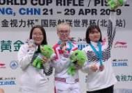 공기소총 권은지, 베이징 월드컵사격대회 은메달