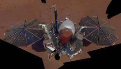 인사이트호, 화성 지진 추정 진동 최초 감지...화성 살아있나