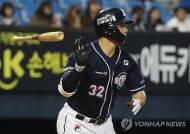 불붙은 김재환, 시즌 6호포로 홈런 공동 1위 등극