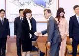 [사진] 문형배·이미선 <!HS>헌법재판관<!HE> 임명장 수여