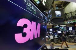 뉴욕증시, 3M 주가 12.9% 폭락…블랙먼데이 이후 최대 낙폭