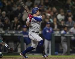 시즌 3호 홈런-3안타 추신수, MLB 전체 OPS 19위