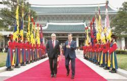 [사진] 칠레 대통령과 회담