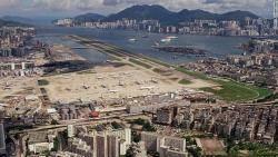 홍콩의 카이탁 공항 : 사진기자가 기억하는 마지막 한 달